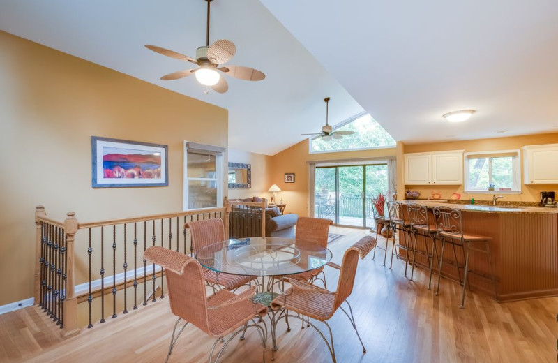 Rental interior at Chattanooga Vacation Rentals.