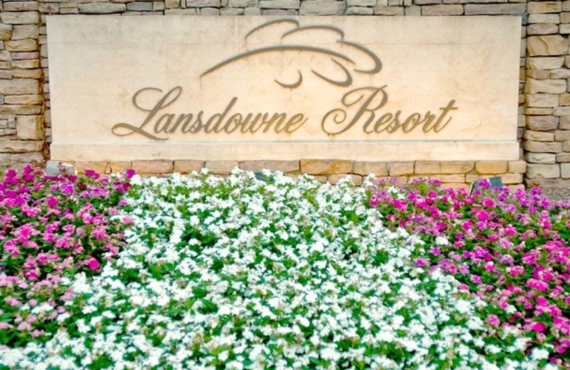 Entrance to Lansdowne Resort
