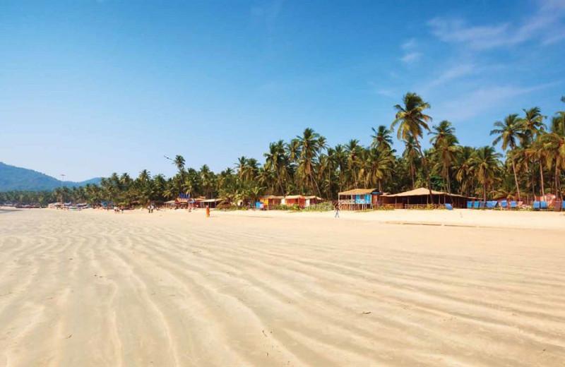 Beach at Royal Goan Beach Club at Benaulim.