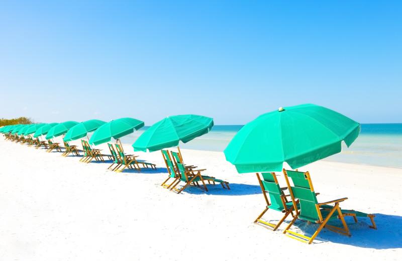 Beach at VIP Vacation Rentals LLC.