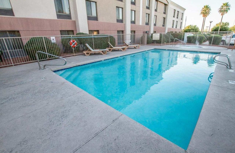 Outdoor pool at Comfort Inn I-10 West at 51st Ave.