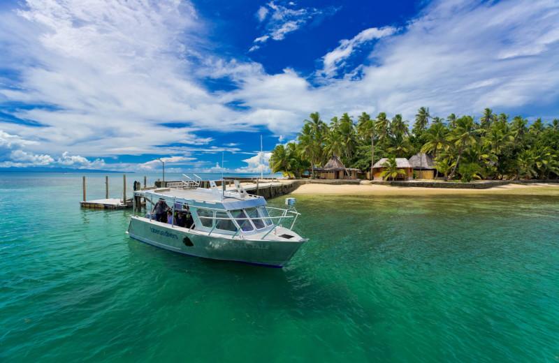 Exterior view of Toberua Island Resort.