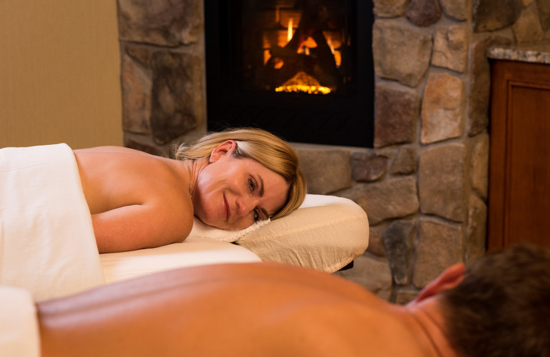 Duo massage and treatment room at Sage Springs Club & Spa