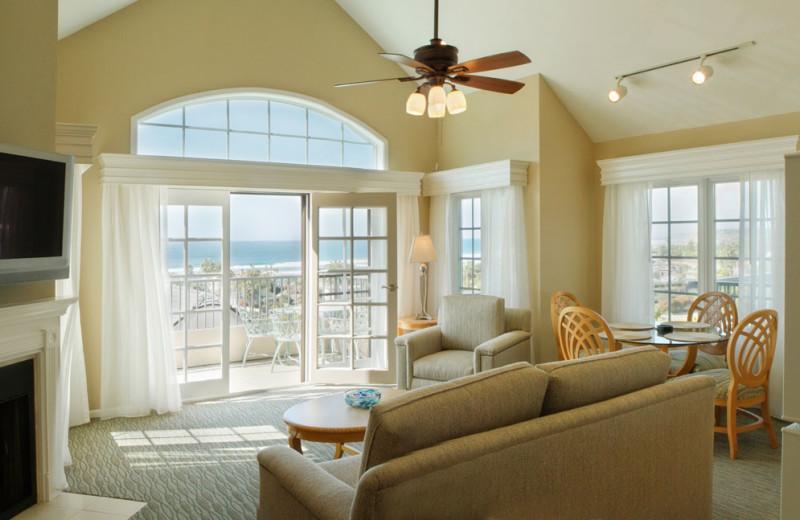 Living Room at the Villa L'Auberge