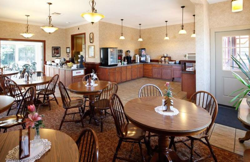 Continental Breakfast at Best Western Plus Humboldt House Inn