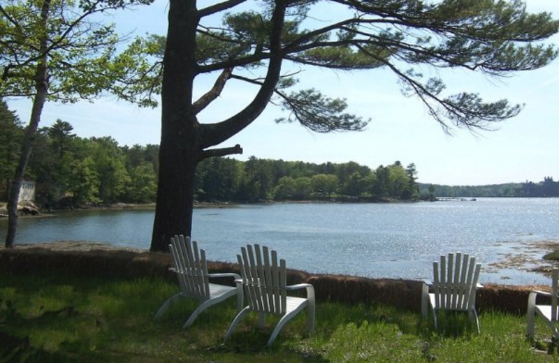 Lake view at Sheepscot Harbour Village