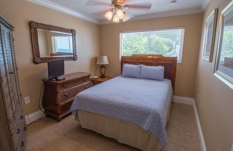 Guest room at Anna Maria Island Inn.