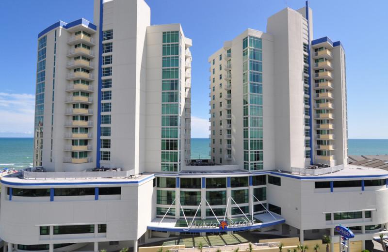 Exterior view of Avista Resort.