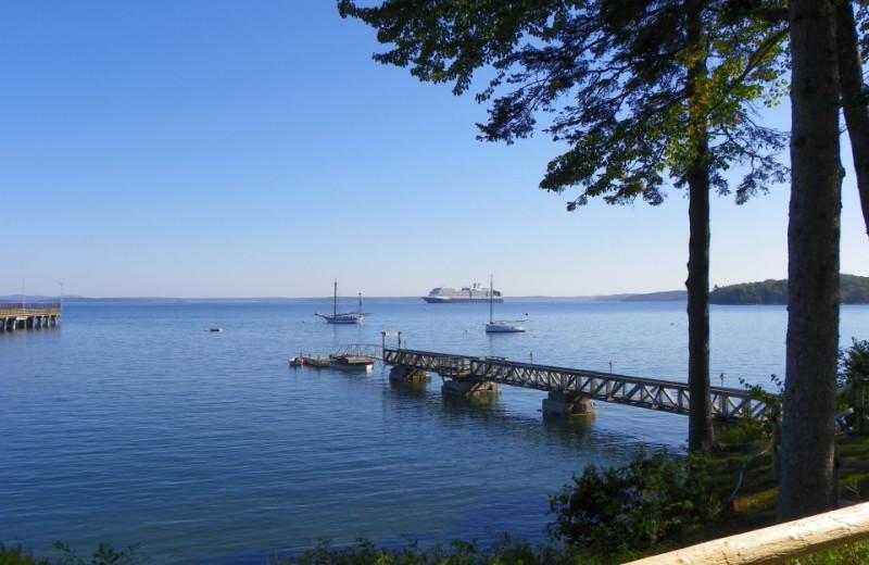 The pier at Atlantic Oceanside Hotel.