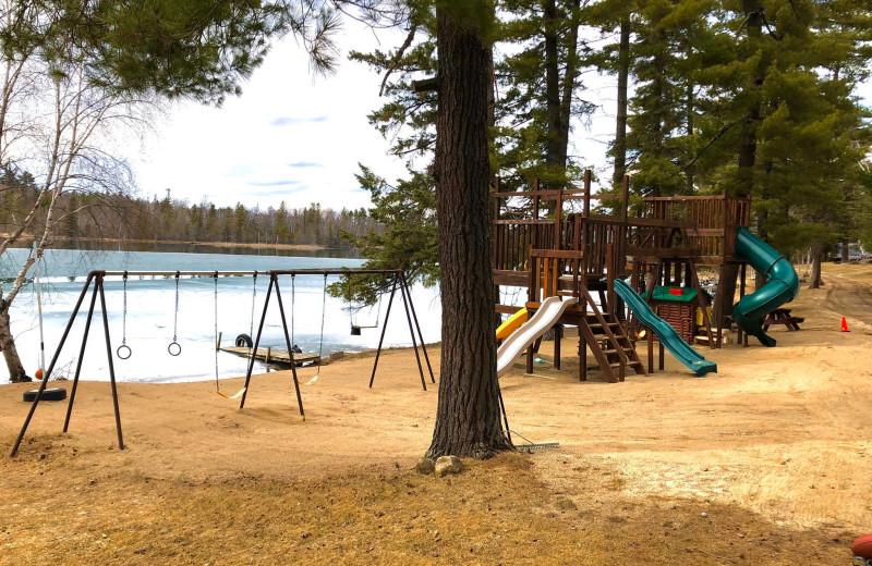 Playground at Moore Springs Resort.