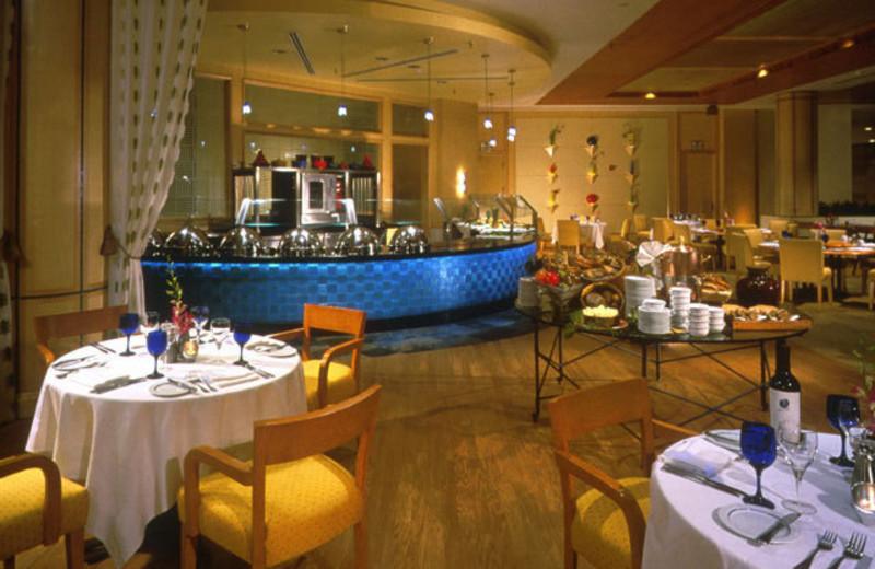 Dining at Intercontinental Miami.