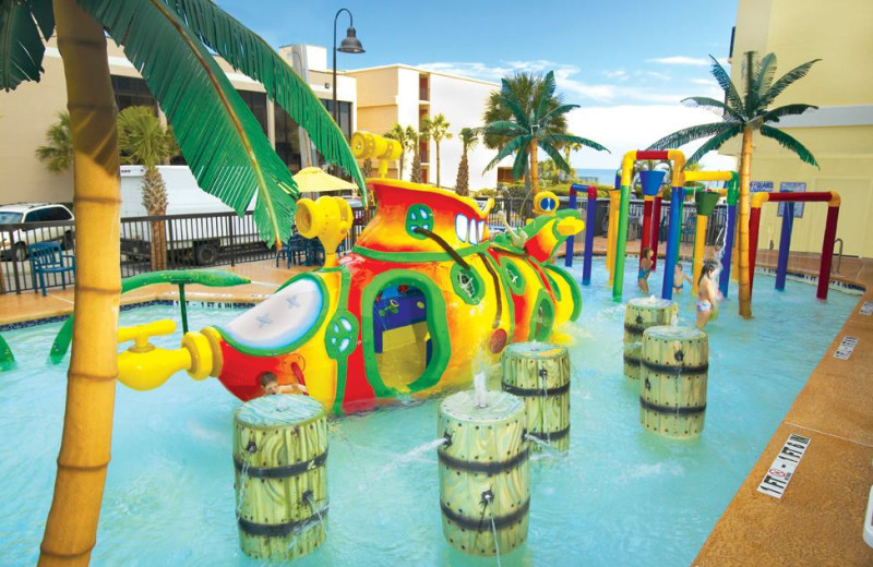 Water park at Compass Cove Resort.