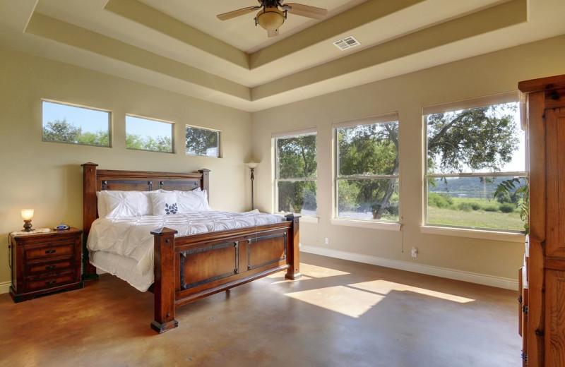 Bedroom at Hill Country Ranch at Lake Travis.