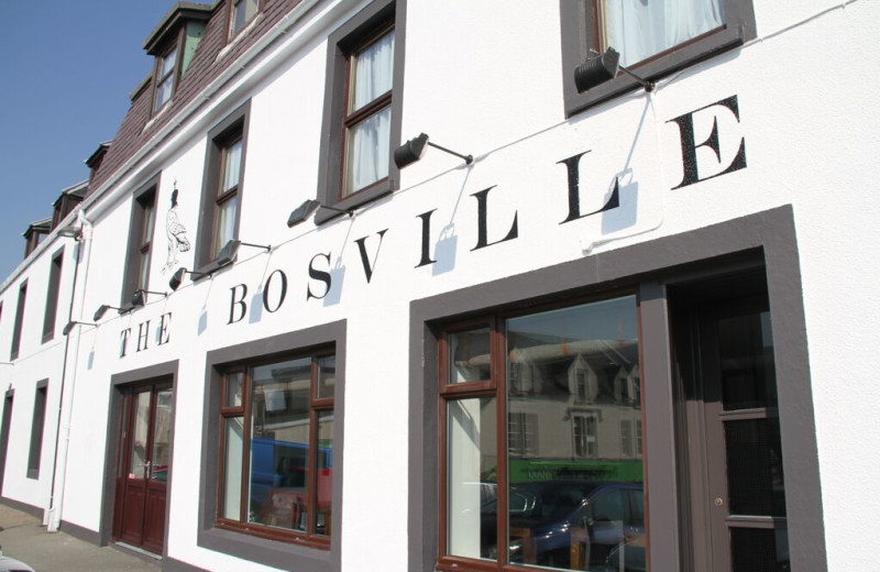 Exterior view of Bosville Hotel.