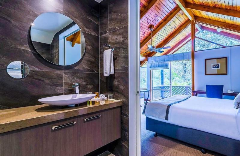 Guest room at Puka Park Resort.