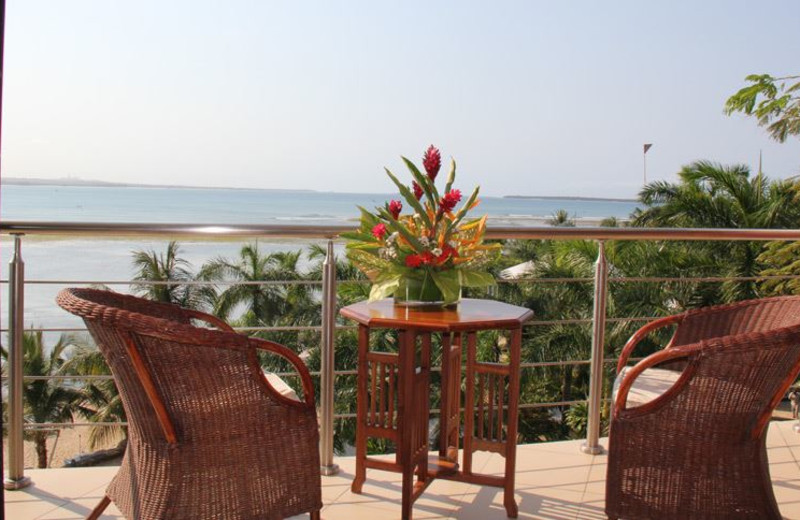 View at Best Western Coral Beach Hotel.
