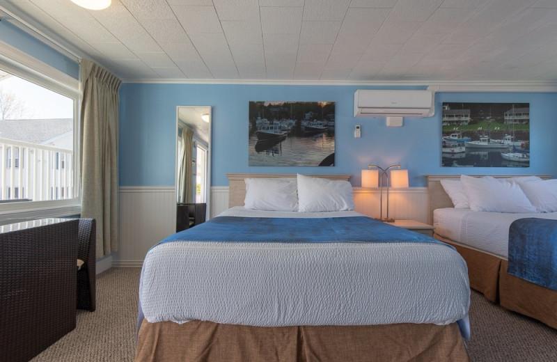 Footbridge Beach Motel.