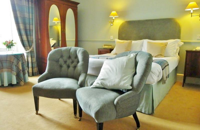 Guest room at Killiecrankie Hotel.