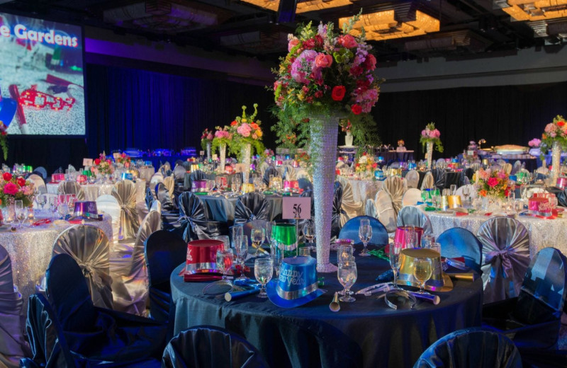Party at Moody Gardens Hotel Spa & Convention Center.