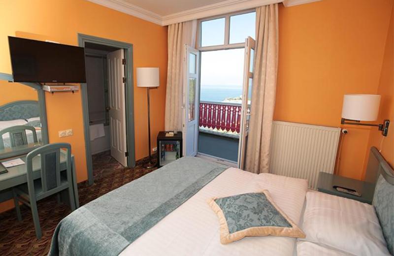Guest room at Merit Halki Palace.