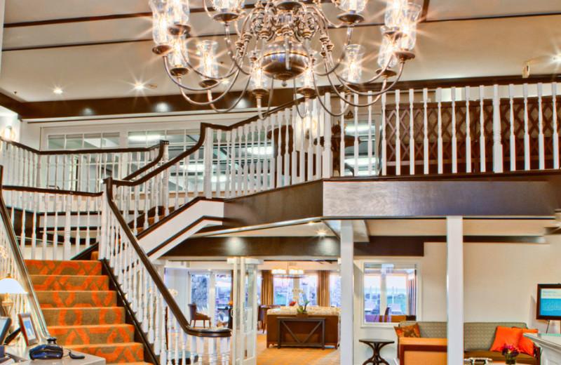 Lobby at the Carlsbad Inn Beach Resort