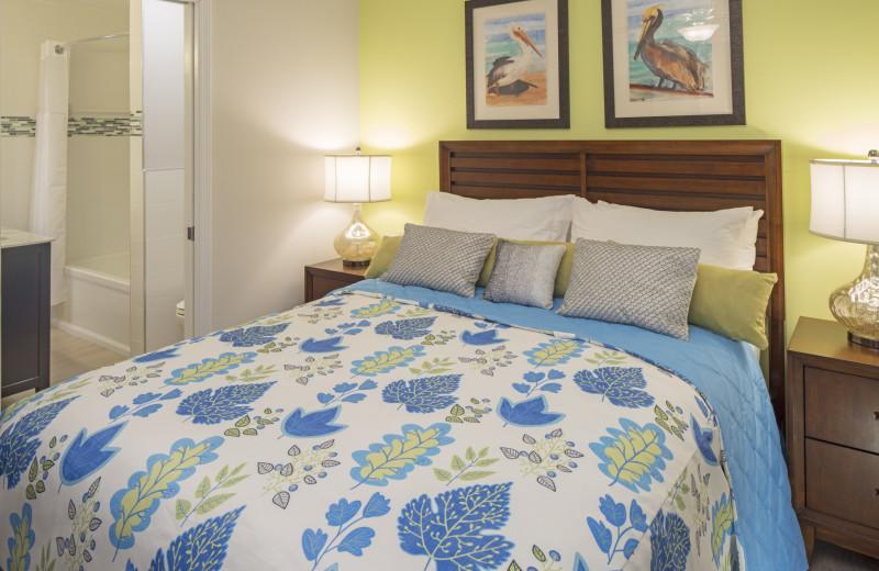 Guest room at Morritt's Tortuga Club & Resort.