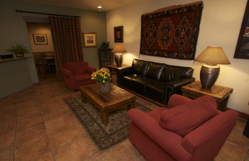 Sitting Area at Santa Fe Sage Inn