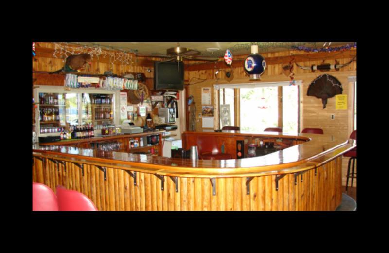 Bar at Reel'Em Inn.