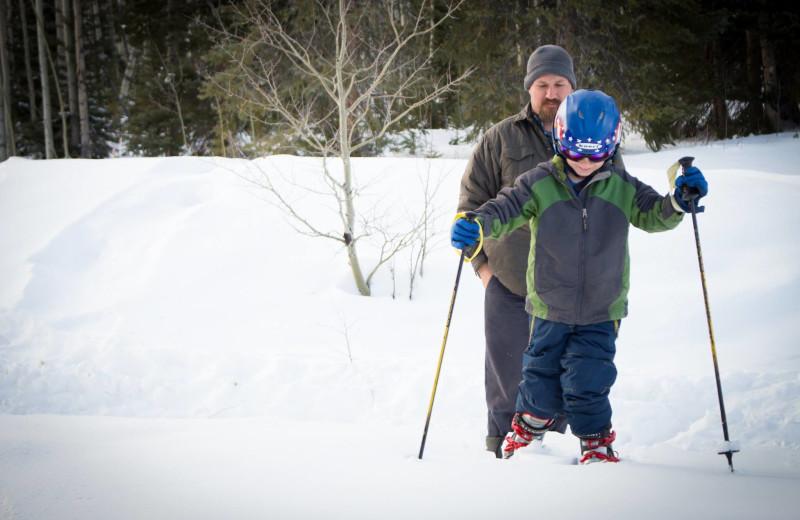 Skiing at The Cabins at Historic Columbine.
