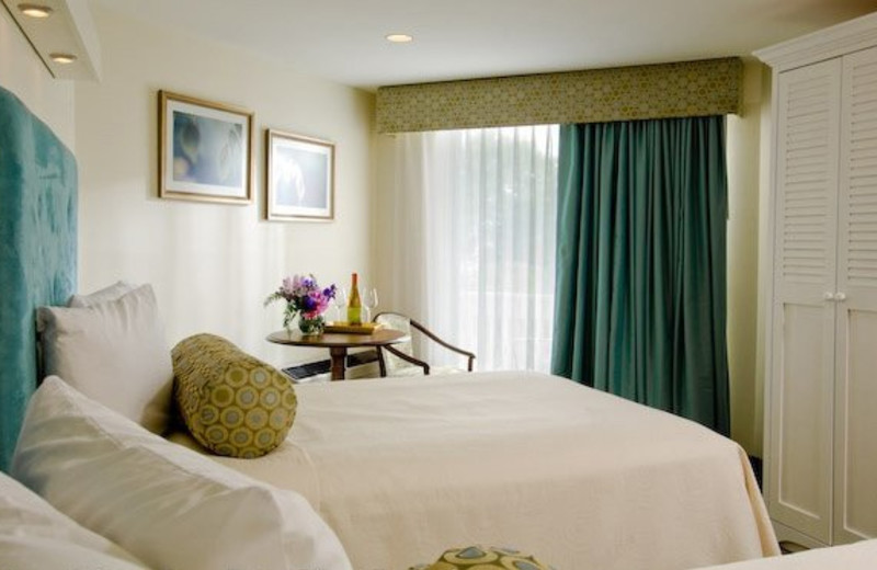 Guest room at Anchorage by the Sea.