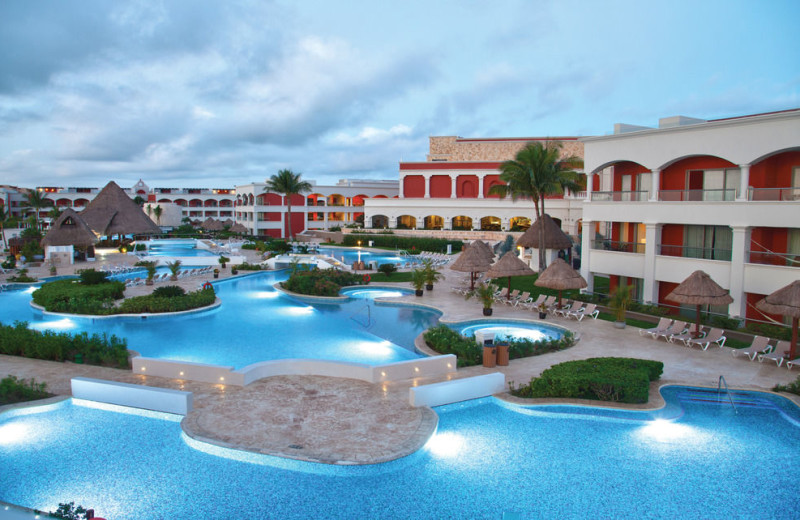 Outdoor pool at Aventura Spa Palace All Inclusive.