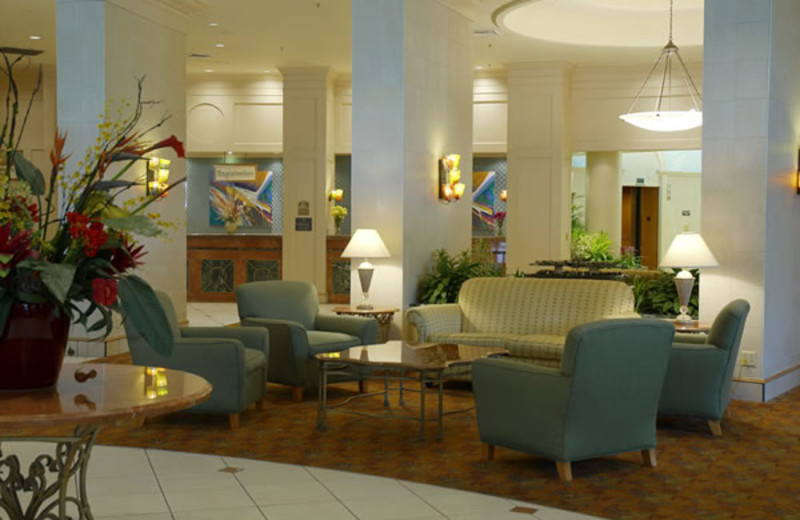 Lobby at Best Western Lake Buena Vista