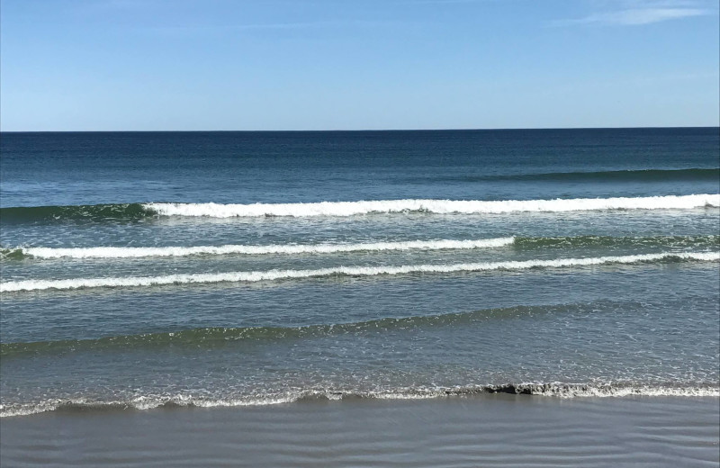 Beach at Morning Glory Inn.