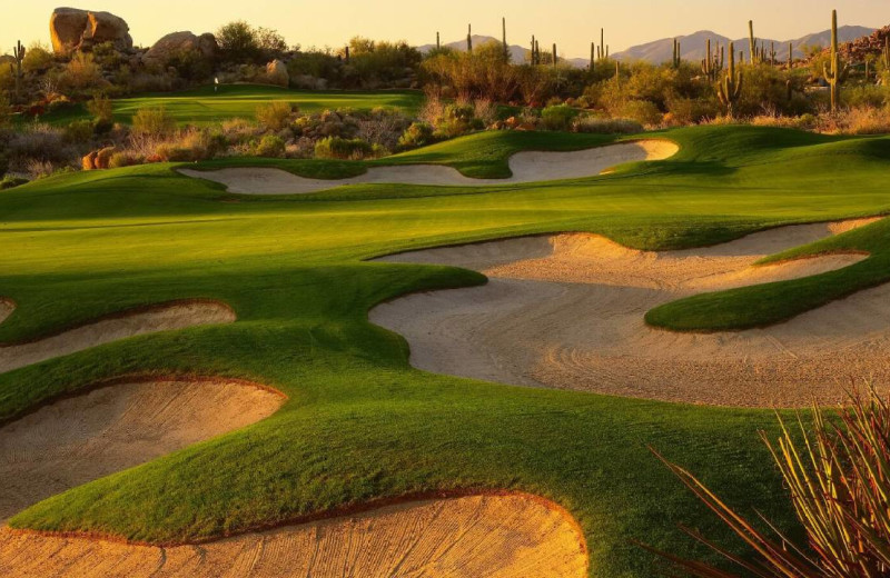 Golf course at Four Seasons Residence Club Scottsdale at Troon North.