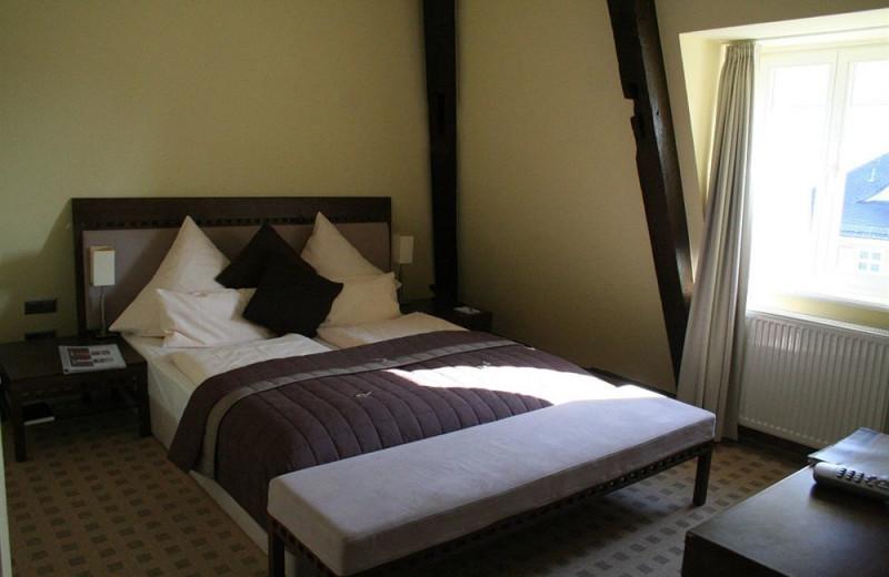 Guest room at Merian Hotel Jens König.