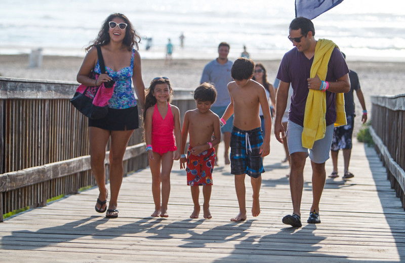 Family at Padre Island Rentals.