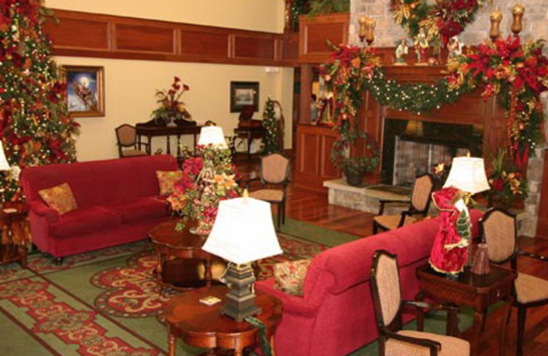 Lobby Area at The Inn at Christmas Place