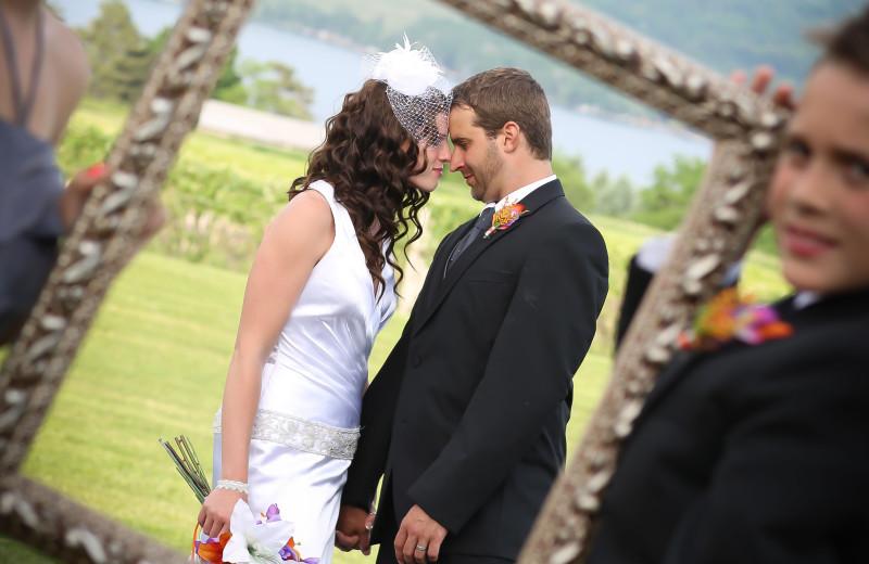 Weddings at Inn at Glenora Wine Cellars.