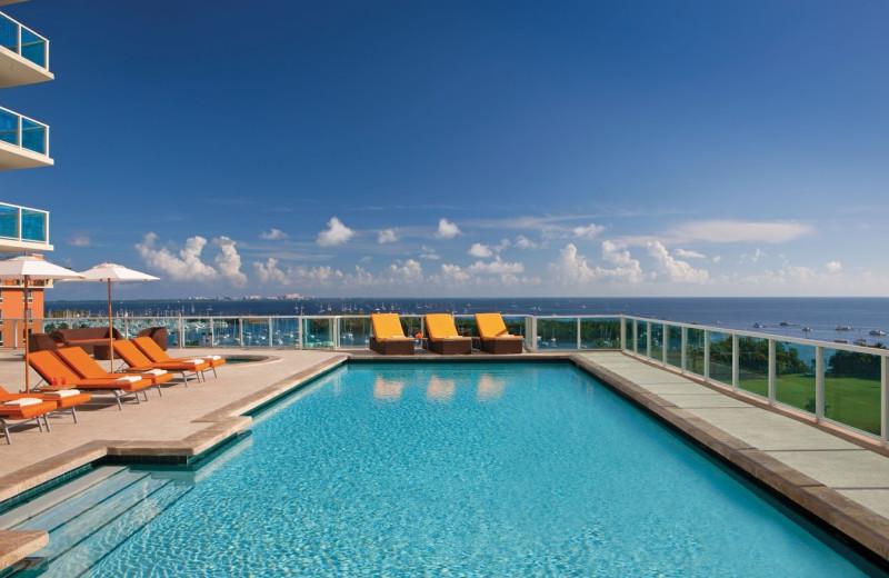 Outdoor pool at Sonesta Bayfront Hotel Coconut Grove.