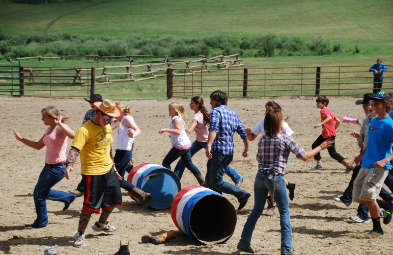Group at Paradise Guest Ranch.