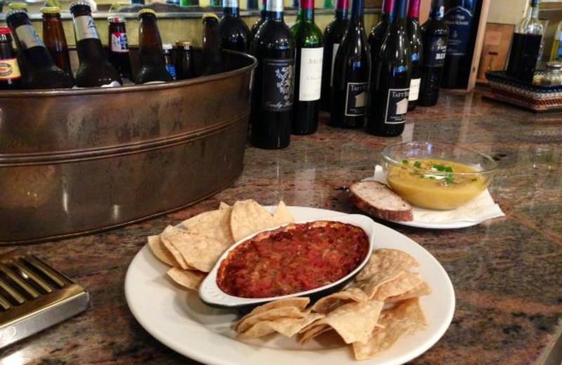 Dining at San Anselmo Inn.