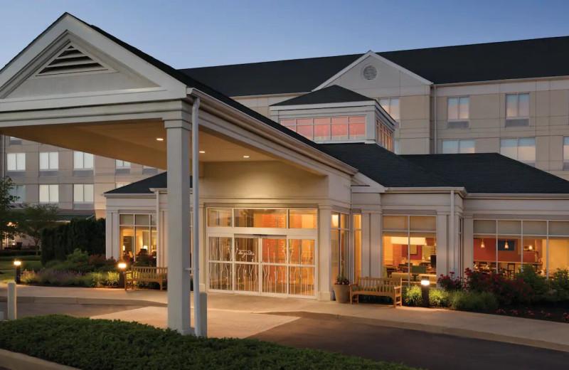 Exterior view of Hilton Garden Inn Wilkes-Barre.