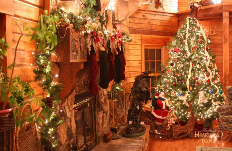 Christmas at Harpole's Heartland Lodge.