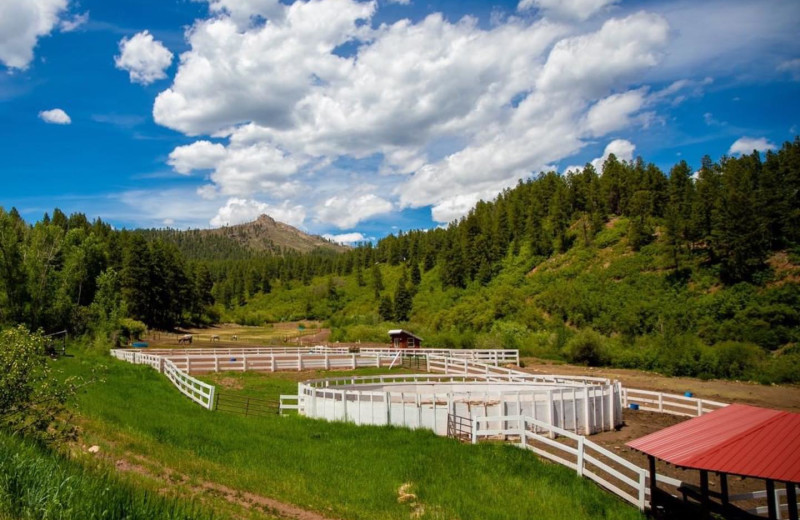 Exterior view of Colorado Trails Ranch.