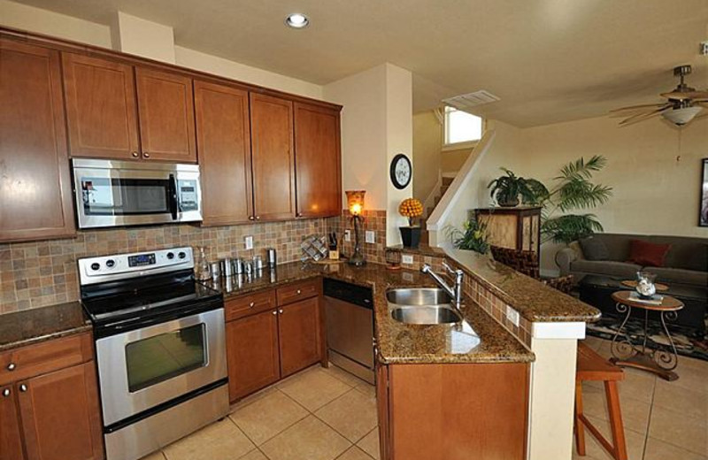Rental kitchen at The House Company.