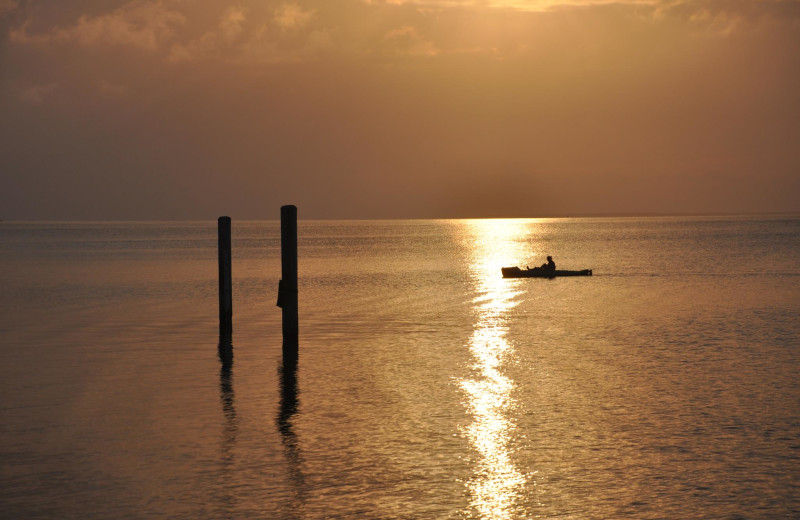 Fishing at Lookout Lodge Resort.
