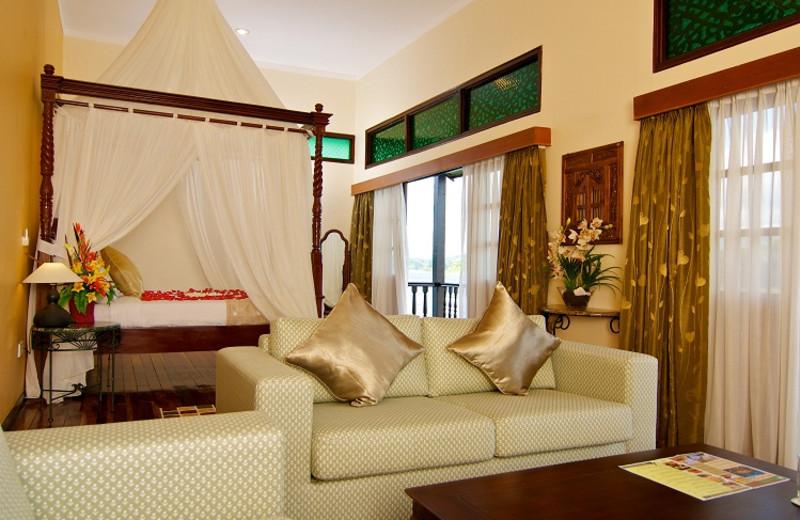 Guest room at Tasik Kenyir Golf Resort.