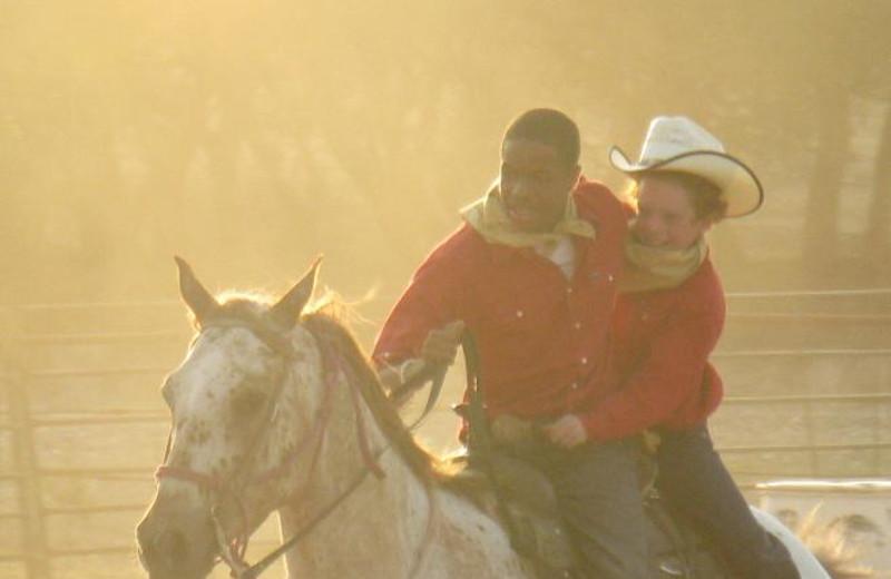 Horseback riding camp at Rancho Cortez.