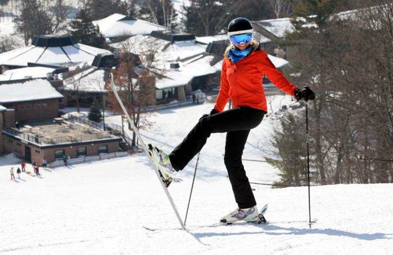 Skiing at Devils Head Resort & Convention Center.