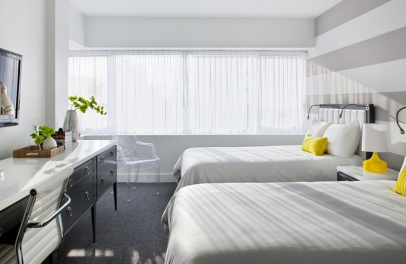 Guest room at Shelborne Beach Resort.